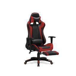 Кресло поворотное Halmar Defender 2 | Черный / Красный