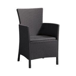 Кресло садовое Pooffe Iowa | Антрацит