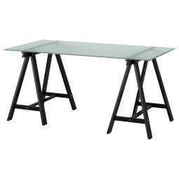 IKEA Стол GLASHOLM / ODDVALD (ИКЕА ГЛАСХОЛЬМ / ОДВАЛЬД)