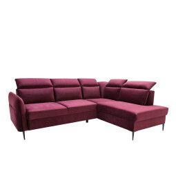 Правосторонний диван BRW Rafael | Фуксия (Magic Velvet 2202)