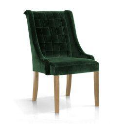 Кресло Atreve Prince | Зеленый / Дуб