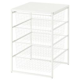 IKEA Рама с проволочными корзинами JONAXEL (ИКЕА ЙОНАКСЕЛЬ)