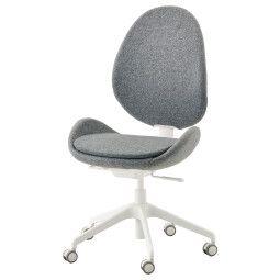 IKEA Кресло поворотное HATTEFJÄLL (ИКЕА ХАТТЕФЬЕЛЛЬ)