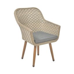 Кресло садовое Pooffe Kordoba | Серый