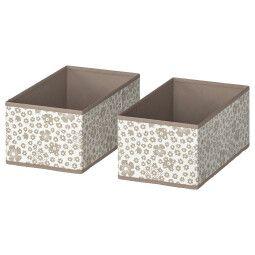 IKEA Комплект коробок STORSTABBE (ИКЕА СТОРСТАББЕ)