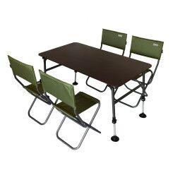 Комплект мебели складной Novator SET-1 (120х65)   Коричневый