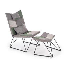 Кресло с подставкой для ног Halmar Remix | Микс