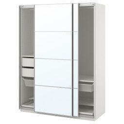IKEA Шкаф с зеркальными дверями PAX (ИКЕА ПАКС)