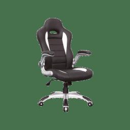 Кресло поворотное Signal Q-024 | Черный / белый