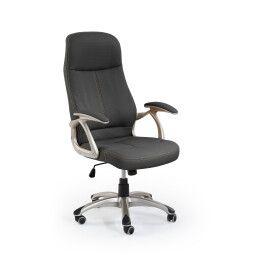 Кресло поворотное Halmar Edison   Черный