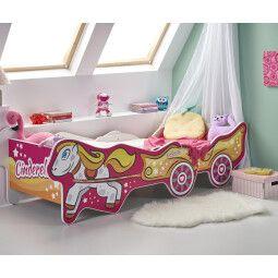 Кровать детская Halmar Cinderella | Золушка