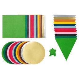 IKEA Набор бумаги для оригами LUSTIGT (ИКЕА ЛУСТИГТ)