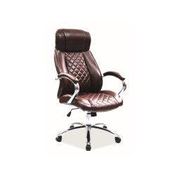 Кресло поворотное Signal Q-557 | Коричневый