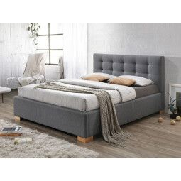 Кровать Signal Copenhagen | 160х200 / Серый / Дуб