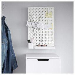 IKEA Настенная панель SKÅDIS (ИКЕА СКОДИС)