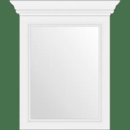 Зеркало Gerbor Вайт 60   Сосна серебрянная (новые направляющие)