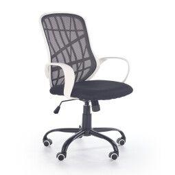 Кресло поворотное Halmar Dessert | Черный / белый