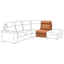IKEA Секция 1-местная со спинкой LIDHULT (ИКЕА ЛИДГУЛЬТ)