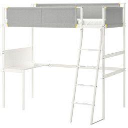 IKEA Каркас кровати-чердака VITVAL (ИКЕА ВИТВАЛ)