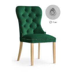 Стул Atreve Madame | Зеленый / Дуб