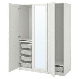 IKEA Шкаф с зеркальной дверью PAX / TYSSEDAL (ИКЕА ПАКС / ТИССЕДАЛЬ)