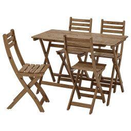 IKEA Комплект мебели садовой ASKHOLMEN (ИКЕА АСКХОЛЬМЕН)