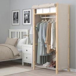 IKEA Шкаф с чехлом IVAR (ИКЕА ИВАР)
