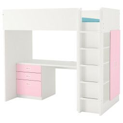 IKEA Кровать-чердак STUVA / FRITIDS (ИКЕА СТУВА / ФРИТИДС)