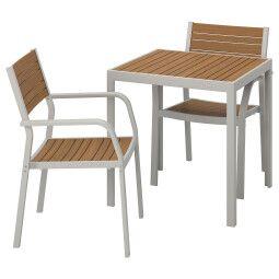 IKEA Комплект мебели садовой SJÄLLAND (ИКЕА ШЭЛЛАНД)