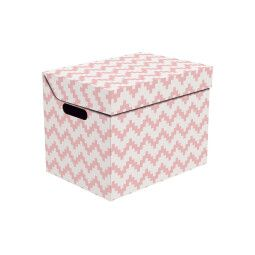 Коробка BRW Zygzak | Розовый