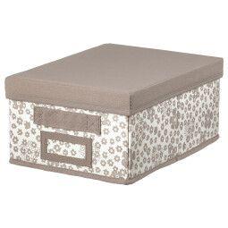 IKEA Коробка с крышкой STORSTABBE (ИКЕА СТОРСТАББЕ)