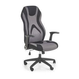 Кресло поворотное Halmar Jorfey | Серый / Черный