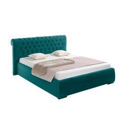 Кровать BRW Cupido III 160 | 160x200 / Бирюзовый (Nobile 15 Turquoise)