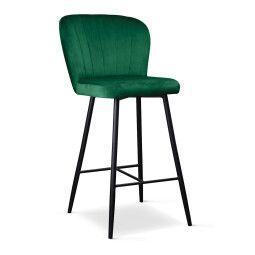 Стул Atreve Shelly 60 | Зеленый / Черный