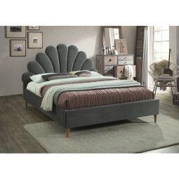 Кровать Signal Santana Velvet | Серый