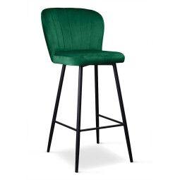 Стул Atreve Shelly 70 | Зеленый / Черный