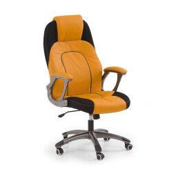 Кресло поворотное Halmar Viper    Оранжевый / Черный