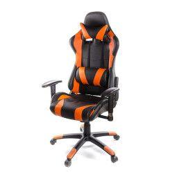 Кресло поворотное Аклас Хорнет | Оранжевый