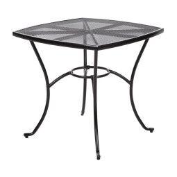 Стол садовый Pooffe Bolonia | 80x80 / Черный