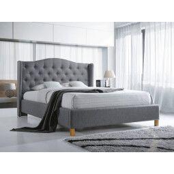 Кровать Signal Aspen | 140x200 / Серый / Дуб