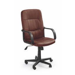 Кресло поворотное Halmar Denzel | Коричневый