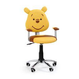 Кресло поворотное Halmar Kubuś   Желтый