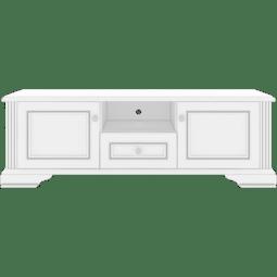Тумба под ТВ Gerbor Вайт РТВ_160 | Сосна золотая (новые направляющие)
