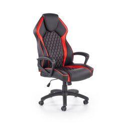 Кресло поворотное Halmar Vector | Черный / Красный