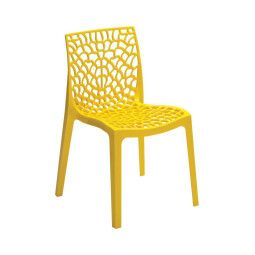 Стул садовый Pooffe Gruvyer | Желтый