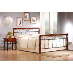 Кровать Halmar Veronica | 160х200 / Черешня античная