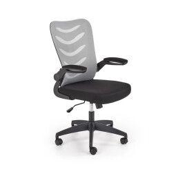 Кресло поворотное Halmar Lovren | Серый / Черный