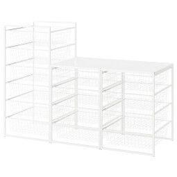 IKEA Стеллаж с корзинами JONAXEL (ИКЕА ЙОНАКСЕЛЬ)