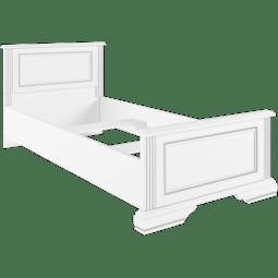 Кровать Gerbor Вайт | 90x200 / Ясень снежный / Сосна серебрянная