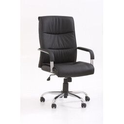 Кресло поворотное Halmar Hamilton | Черный